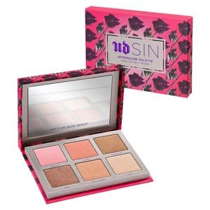Urban Decay SIN Afterglow palette NEW IN BOX